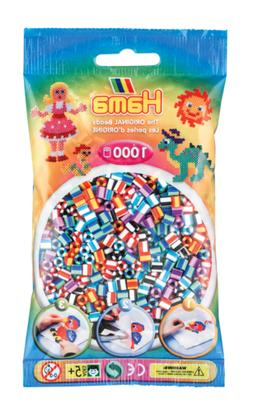 1 000 Beads Standard Midi  Bicolour Mix 6 - Hama
