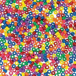 1 Lb. of Opaque Pony Beads - Craft Supplies - 2000 Pieces