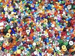 1 Lb Pound Bulk Tiny Seed Beads Assorted Vintage Eclats De P