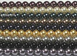 10 10 mm crystal pearls choose your