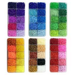 10 colors Hama Perler Beads 2.6mm Mini Iron Fuse Beads 4200p