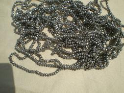 10 STRANDS bulk deal lot 2MM RONDELLES  Faceted Glass Beads