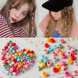 100 PCS Mini Hair Claw Clips For Women Girls Cute Candy Colo