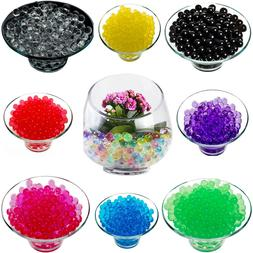 1000 Water Aqua Soil Crystals Beads for Wedding Decor Vase F