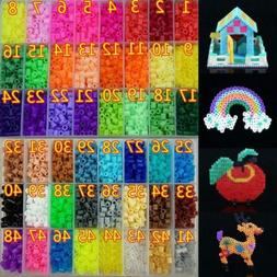 1000pcs 5mm Hama Beads Perler Beads Craft Pegboard EVA DIY A