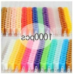 1000pcs 5mm Hama Iron Beads PUPUKOU Tool DIY Perler Fuse Edu