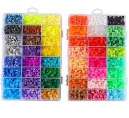 1000pcs 5mm Plastic Hama Perler Beads For Educate Kids Child
