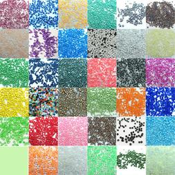1000pcs Loose Charm 2MM round Czech Glass Seed Beads DIY Jew