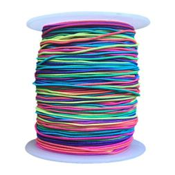 100M Rainbow Color Elastic String Multi-functional for Jewel
