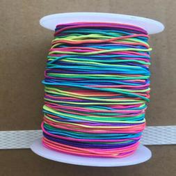 100M Rainbow Stretchy Beading Thread Cord Bracelet String Je
