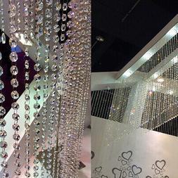33ft/10M DIY Diamond Acrylic Strand Crystal String Beads Cur