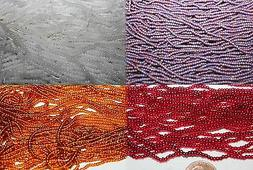 11/0- Czech Glass Seed Beads - Various Color in Lost