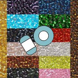 Miyuki 11/0 Glass Seed Beads Japanese Rocailles Silver Lined