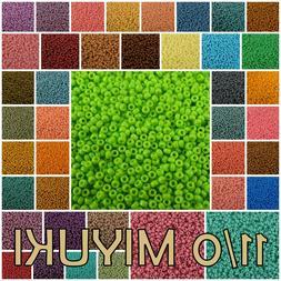 11/0 Miyuki Round Seed Beads 23 g #4451-4492