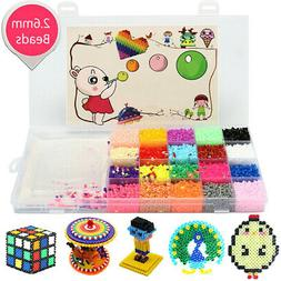 Mini 11000Pcs Fuse Perler Hama Beads Ironing Set Refill Pack
