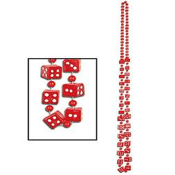 Dice Beads red