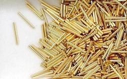 14/20 Gold Filled Tube Beads 1x10 mm for Beading Supplies or