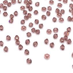 144 Swarovski 5328 Crystal Bicone Beads Jewelry Making 3mm p