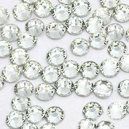 1440 pcs HotFix Iron-On Flatback Rhinestones Beads SS16 Clea