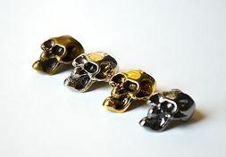 15 Metal Skull Beads  Paracord Bracelets - US Seller