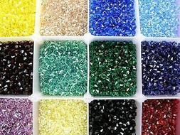 150 PIECES GENUINE SWAROVSKI 6MM 5328 / 5301 XILION BICONE C