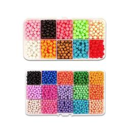 2.6mm Magic Hama Beads DIY 3D Puzzles Educational Toy Crafts