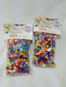 2 Assorted Beads 13OZ  Making in the Moment - Pony Letter Sh