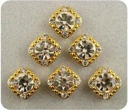 2 Hole Beads Stardust Crystal GALA 8mm Amethyst Swarovski El