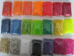 200 count 6mm round fishing beads Make your own walleye spin