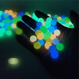 200Pcs 6-12mm 14 Colors Glow In The Dark Loose <font><b>Bead