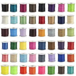 200yards roll korean waxed polyester cord jewelry