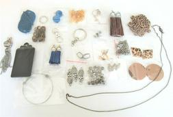 24 Bag Lot Jewelry Making Supplies Beads Findings Sampler Lo