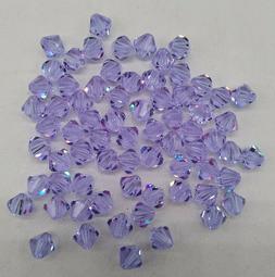 24pc Swarovski Crystal Alexandrite 6mm Bicone Beads; COLOR C