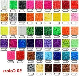 250PCS Perler Hama 5mm Beads Refill Pack Crafts DIY Toy For