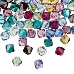 25pcs 3mm SWAROVSKI CRYSTAL FACETED BICONE BEADS - You Choos