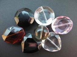3 & 5pc Packs of Large Beads 10-20mm for Jewellery Making, A
