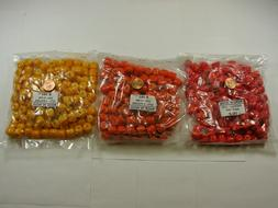3 Pounds 3 Colors 12mm India Handmade Glass Beads Wholesale