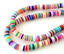 300 Fimo Polymer Clay 5mm Katsuki Assorted Colors Slice Flat