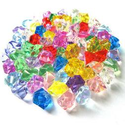 30pcs Multi-Color Simulation ice crystal beads Crafts plasti