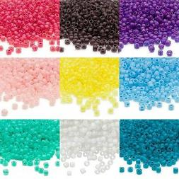 340 Matsuno Dyna-Mites 6/0 #6 Glass Seed Beads With a Matte