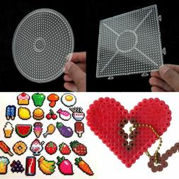 3D DIY Large Pegboards for Perler Bead Hama Fuse Beads Clear
