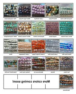 3mm Czech Fire Polished Glass Beads 50 Faceted Round Choose
