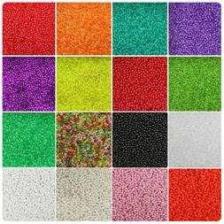 BeadTin 3mm Round Plastic Beads  - Style choice