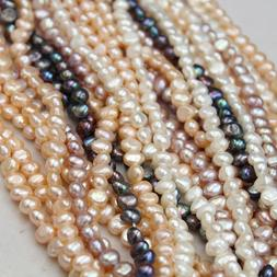 4-9mm Baroque Pearls Natural Freshwater Pearl Loose Beads Je