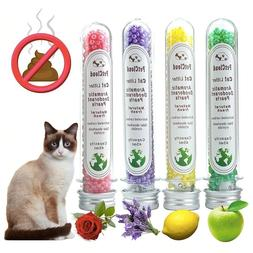 4 Aromatic Cat Litter Deodorant Beads Pet Cleaning Supplies