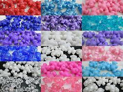 40 Novelty 25mm Teddy Bear Pony Beads - Color Choice