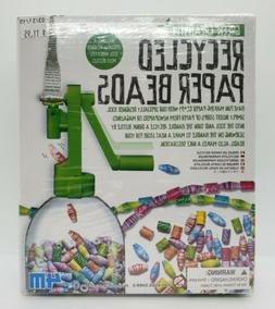 Green Creativity 4M Recycled Paper Beads Sealed Brand New Fr