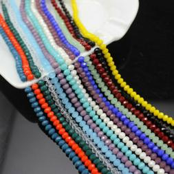 4mm 6mm 8mm 10mm Crystal Faceted Round Loose Beads For Brace