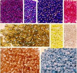 5/0 Czech Traditional Round Glass Seed Beads-38 Grams Bag CH