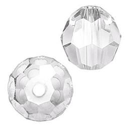 Swarovski #5000 Crystal Clear Faceted Round Beads 6mm